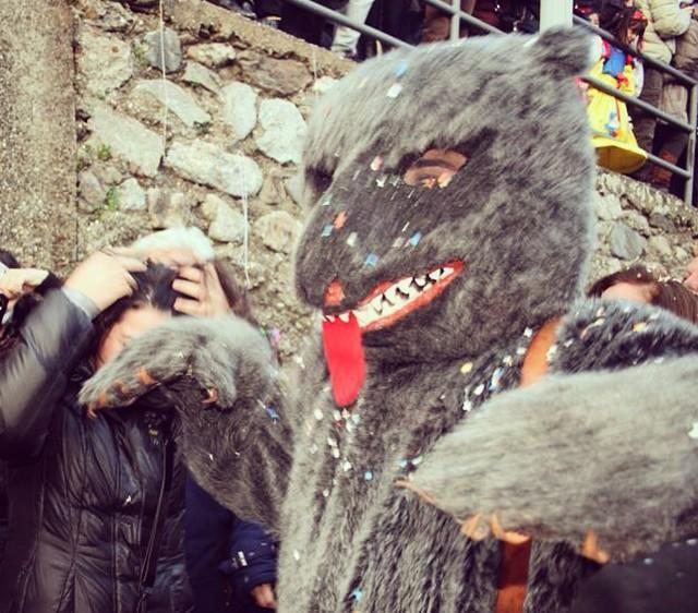 L'Orso del Carnevale di Saponara