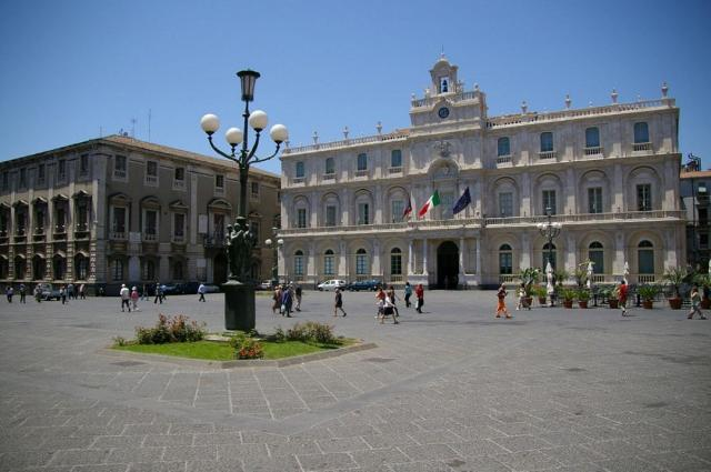Palazzo San Giuliano a Piazza Università - Catania