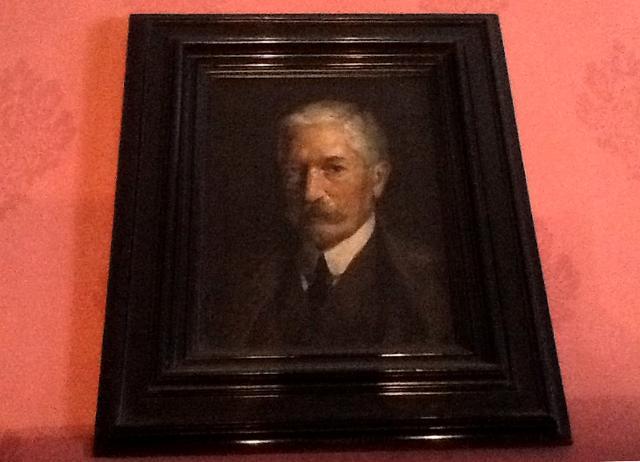 Il ritratto di Giovanni Verga dipinto da Amedeo Bianchi