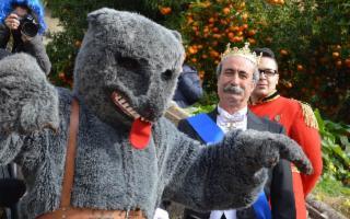 La sfilata dell'Orso e della Corte Principesca