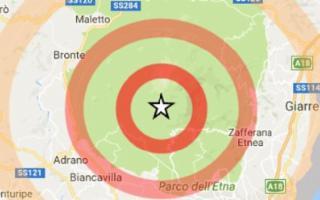 Sciame sismico sull'Etna: registrate 60 scosse