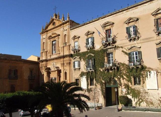 Palazzo dei Giganti, sede del Municipio di Agrigento