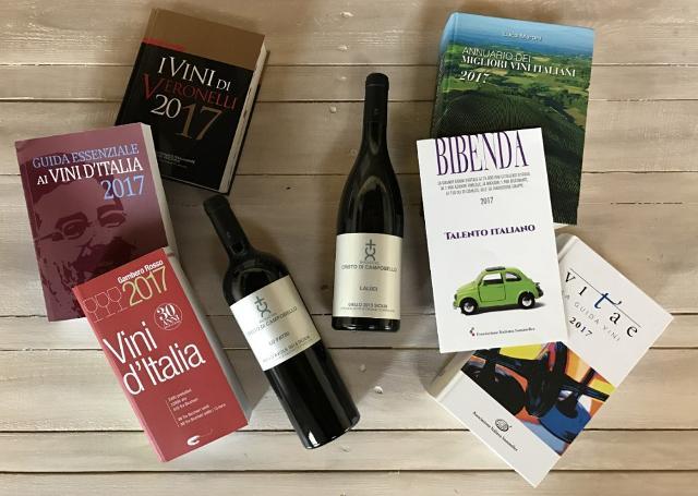 I vini rossi e bianchi di Baglio del Cristo di Campobello nelle principali guide italiane