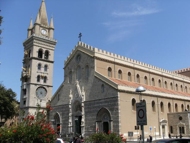 La Cattedrale, bizantina, Protometropolitana di Messina, dedicata a Santa Maria Assunta
