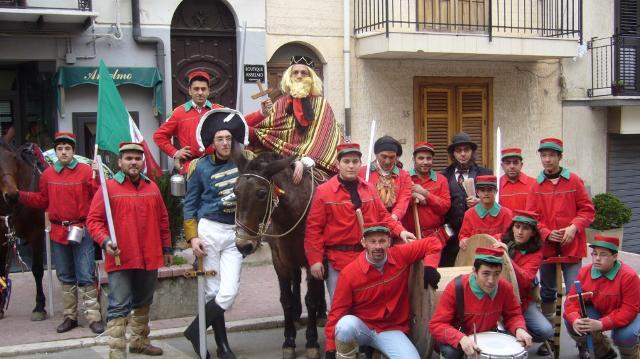 Garibaldi e i garibaldini nella Festa del Mastro di Campo - ph Zarta