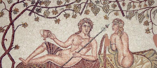 Alla salute di Apollo con un bicchiere di Tauromenitatum!