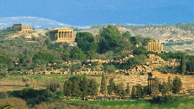 Panorama della Valle dei Templi