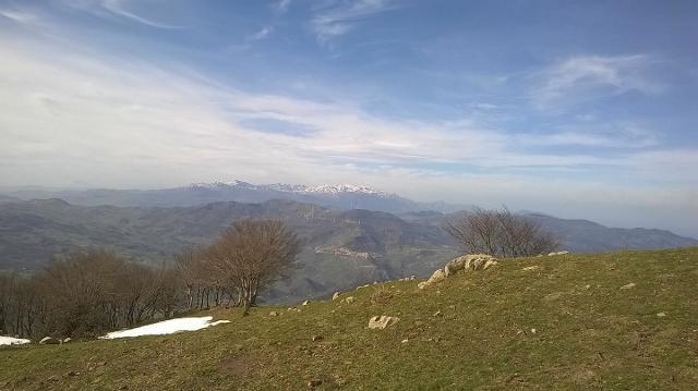 Sui Nebrodi, il Monte Castelli