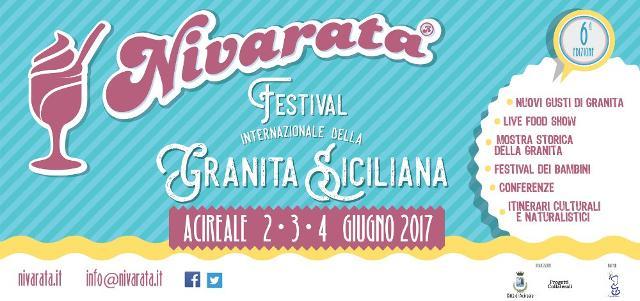 Benvenuti a ''Nivarata'', il Festival Internazionale della Granita Siciliana!
