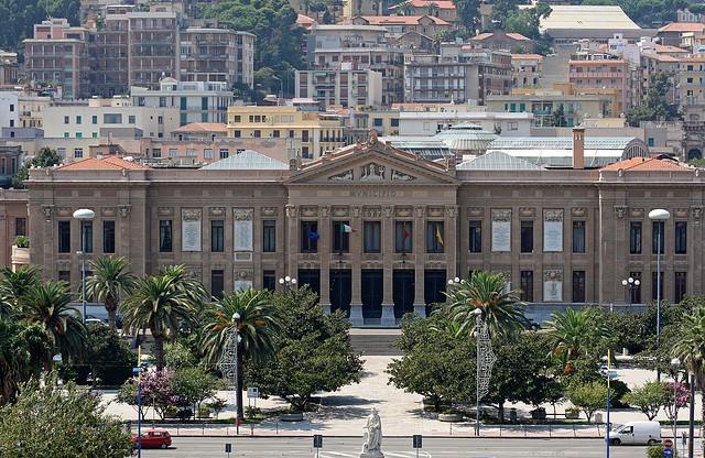 Palazzo Zanca, sede del Municipio di Messina