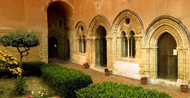 Chiostro del Monastero di Santo Spirito di Agrigento