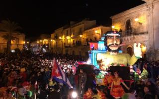Grande successo per la prima serata del Carnevale 2017 a Chiaramonte Gulfi