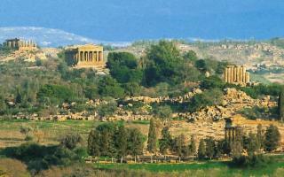 Il Parco della Valle dei Templi disseta i suoi visitatori...