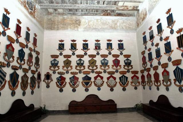 Castello di Caccamo - Stanza degli Stemmi