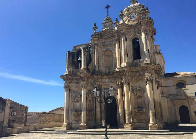 Chiesa di Sant'Antonio Abate, considerata la chiesa più importante e bella di Ferla