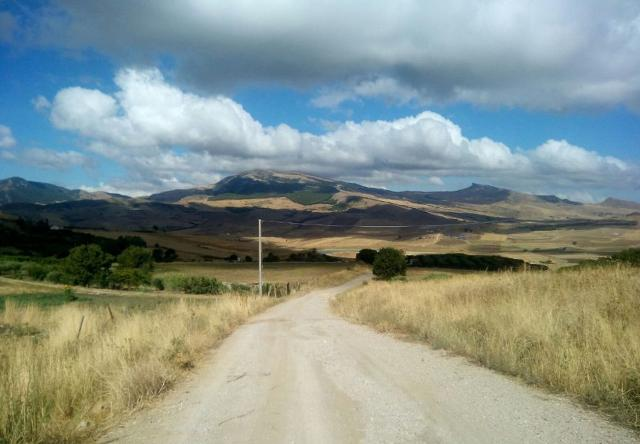 Un tratto della Magna Via Francigena