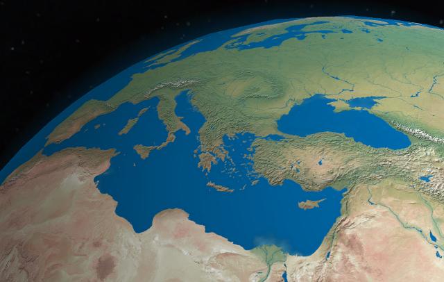 Il pericoloso innalzamento del Mediterraneo