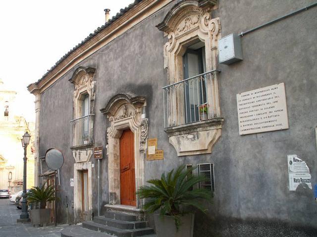 La Casa Palazzata Barone di Monterosso Almo