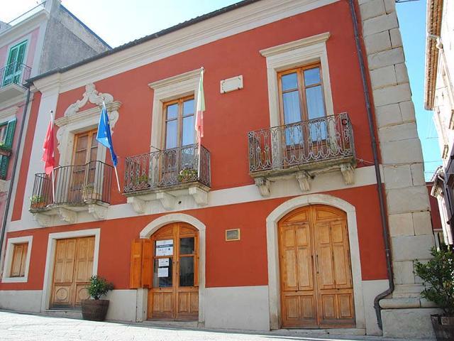 Palazzo Salvo Risicato, sede del Museo territoriale di Novara di Sicilia (ME)
