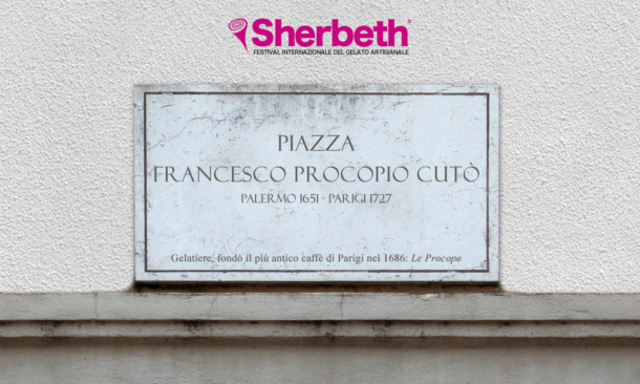 Palermo dedica una piazza al fondatore del caffé Le Procope