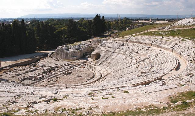 Il Teatro Greco di Siracusa