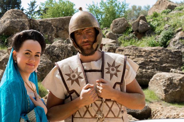 Avvistati nella Valle dei Templi matrone e soldati romani!