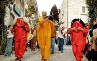 La Settimana Santa e U ballu di diavuli