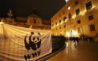 L'Ora della Terra 2017 a Palermo. Centinaia di cittadini a lume di candela in piazza Pretoria