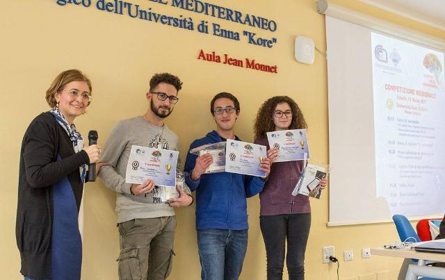 Gli alunni dell'Istituto Curcio di Ispica alle Olimpiadi di Neuroscienze