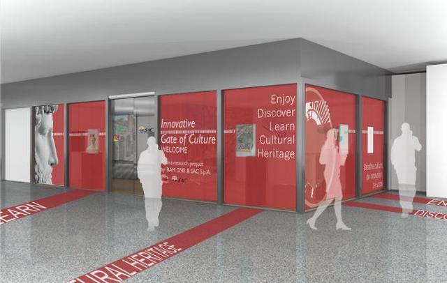 All'aeroporto di Catania apre il ''Gate della Cultura''