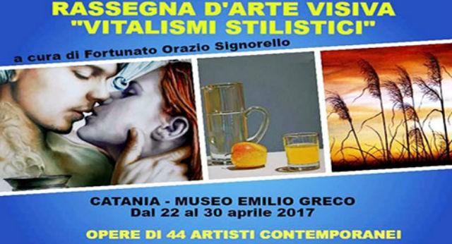 Rassegna d 39 arte visiva 39 vitalismi stilistici 39 museo for Tito d emilio arredamenti catania