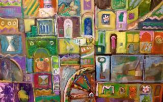 I colori dei damaschi di Sebastiano Caracozzo