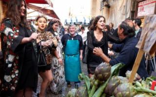 Dolce & Gabbana portano vip e l'alta moda tra Palermo e Monreale