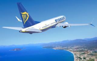 Con Ryanair in autunno più voli settimanali su 5 rotte siciliane