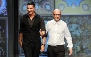Palermo diventa passerella di Dolce e Gabbana