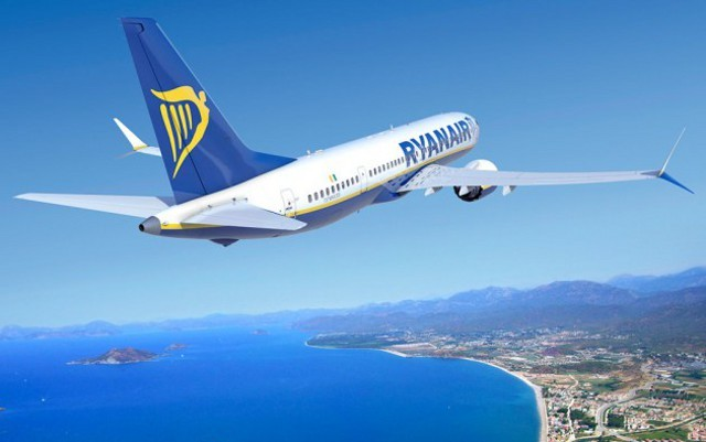 Ryanair lancia la programmazione invernale da Catania