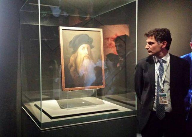 Al G7 di Taormina anche l'Autoritratto di Leonardo da Vinci