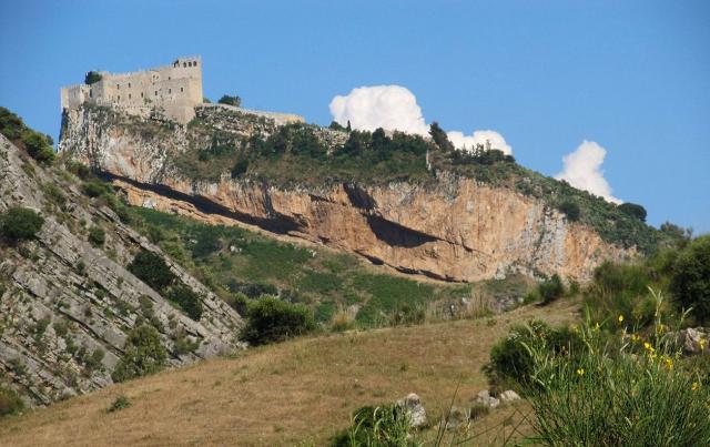 Il castello di Caccamo in una foto di Giuseppe Geraci