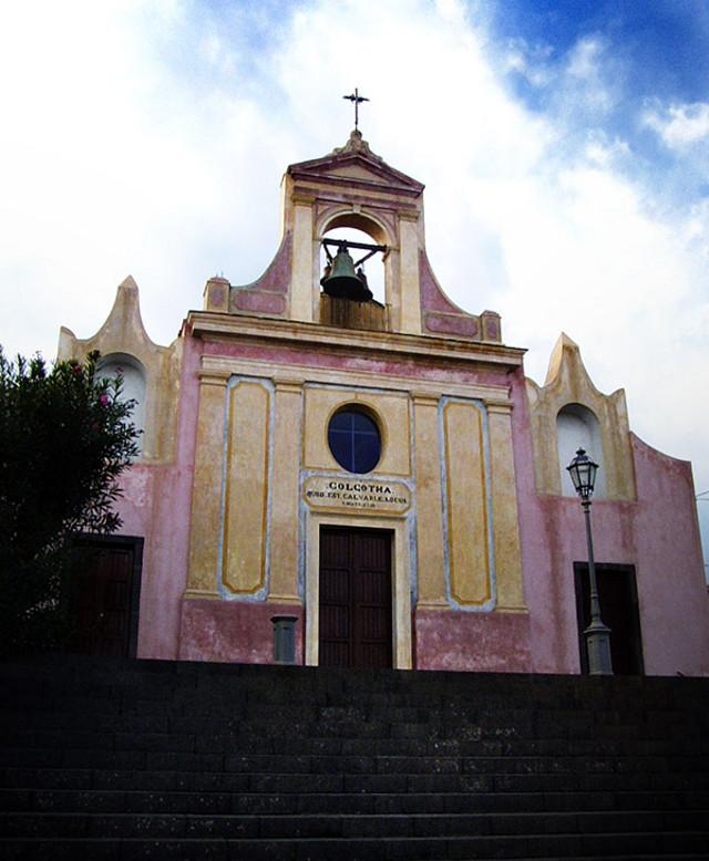 La Chiesa del Calvario di Sant'Alfio