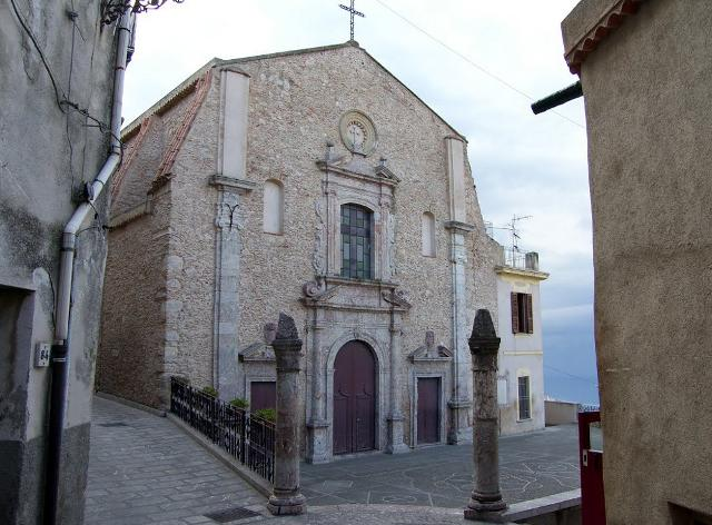 La Chiesa Madre di San Marco D'Alunzio dedicata a San Nicola di Bari
