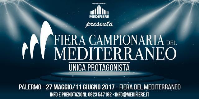 A Palermo il l 27 maggio comincia la Fiera del Mediterraneo