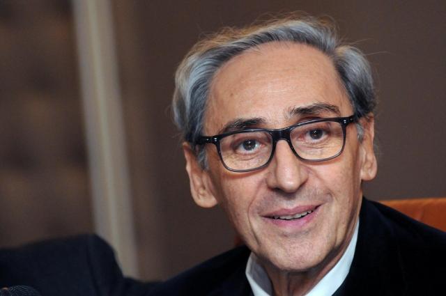 Franco Battiato al Teatro Greco Romano di Catania