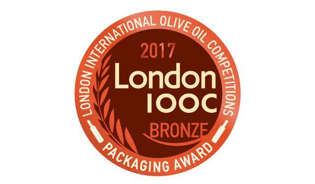Due bronzi per ''OLIOVE'' al ''London International Olive Oil Competition 2017''