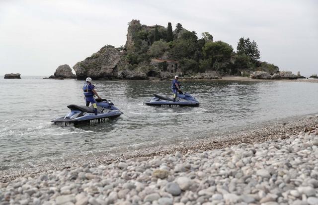 G7 Taormina. Controlli a Isola Bella