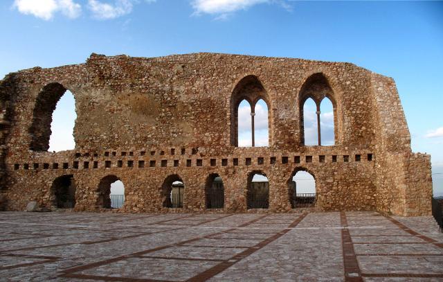 I ruderi del castello di San Marco