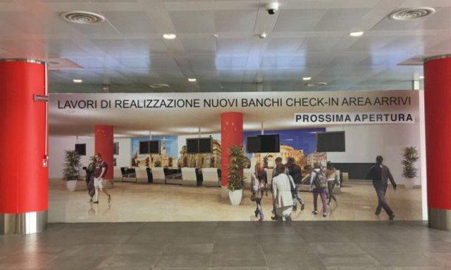 All'aeroporto di Palermo apre la terza sala check-in