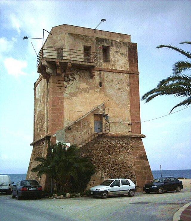 Torre San Francesco in località Marausa