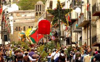 Viaggio dei Ramara, Festa dei Rami