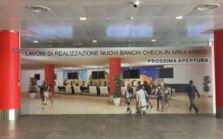 All'aeroporto di Palermo apre la terza sala check-in