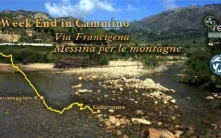 Weekend in cammino - Via Francigena Messina per le montagne